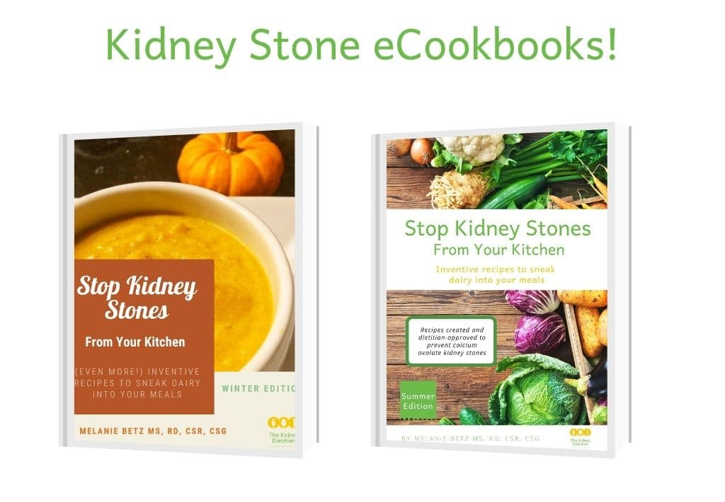 Kidney Stone eCookbooks available for sale