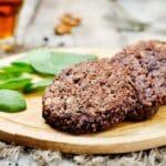 Low Sodium veggie burger