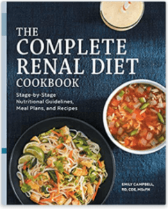 Cover of book: The Complete Renal Diet Cookbook