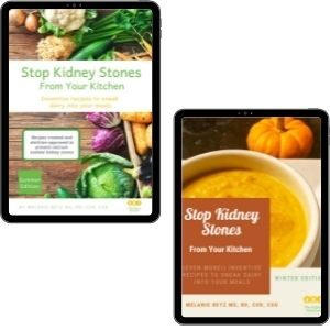 Image of the winter and summer edition of Stop Kidney Stones From Your Kitchen